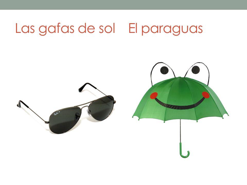 Las gafas de solEl paraguas