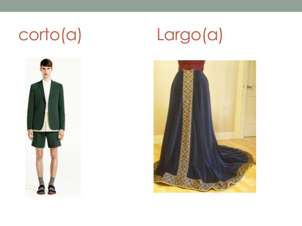 corto(a)Largo(a)