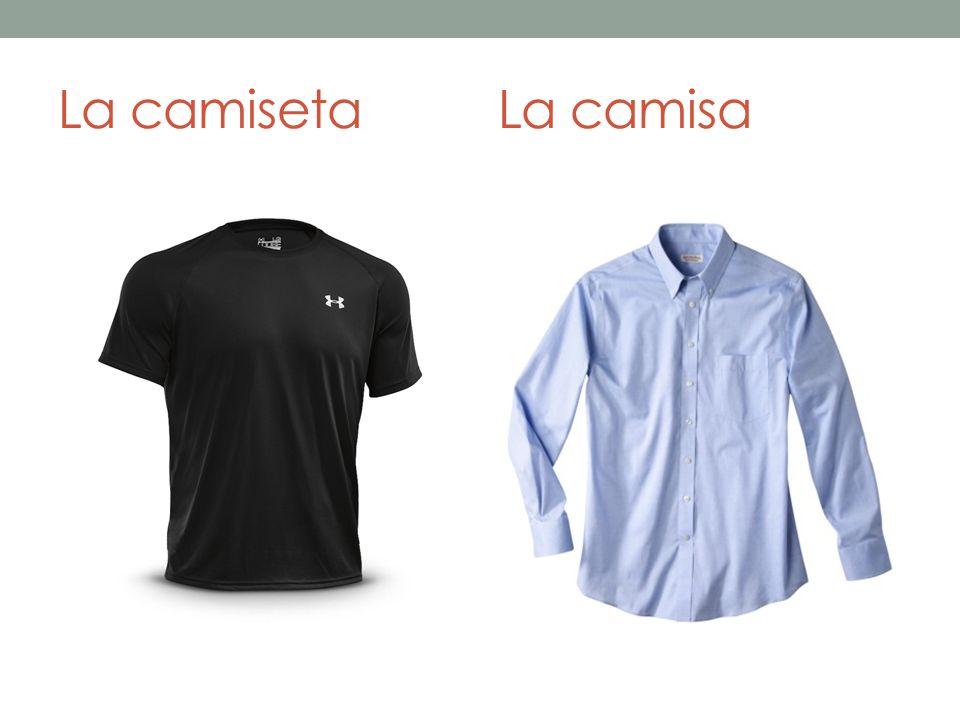 La camisetaLa camisa