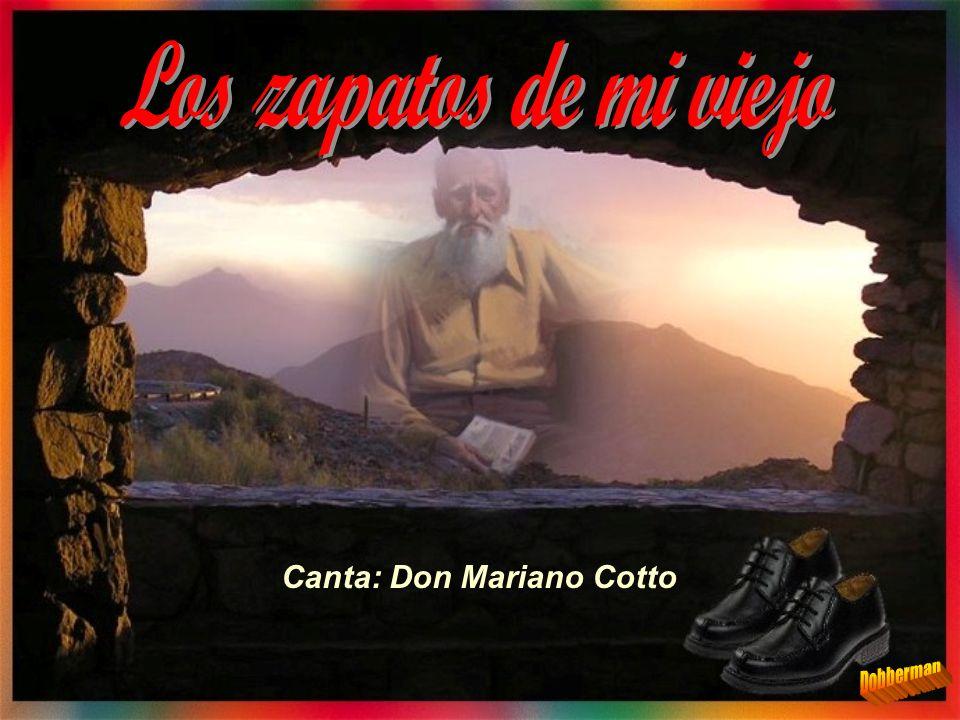 Canta: Don Mariano Cotto