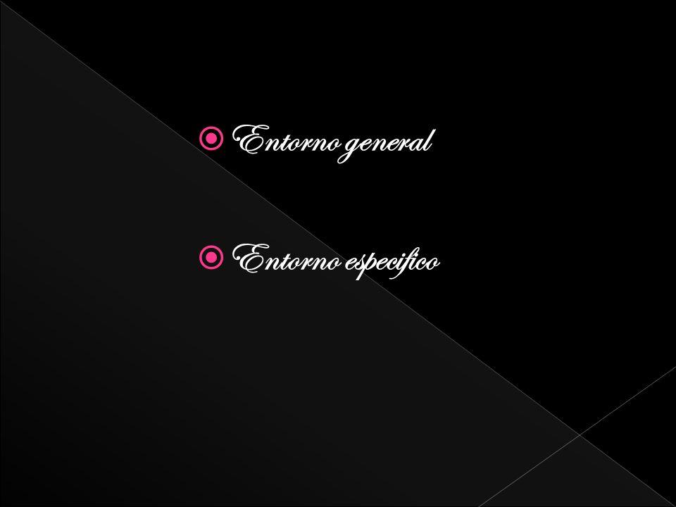 Entorno general Entorno especifico