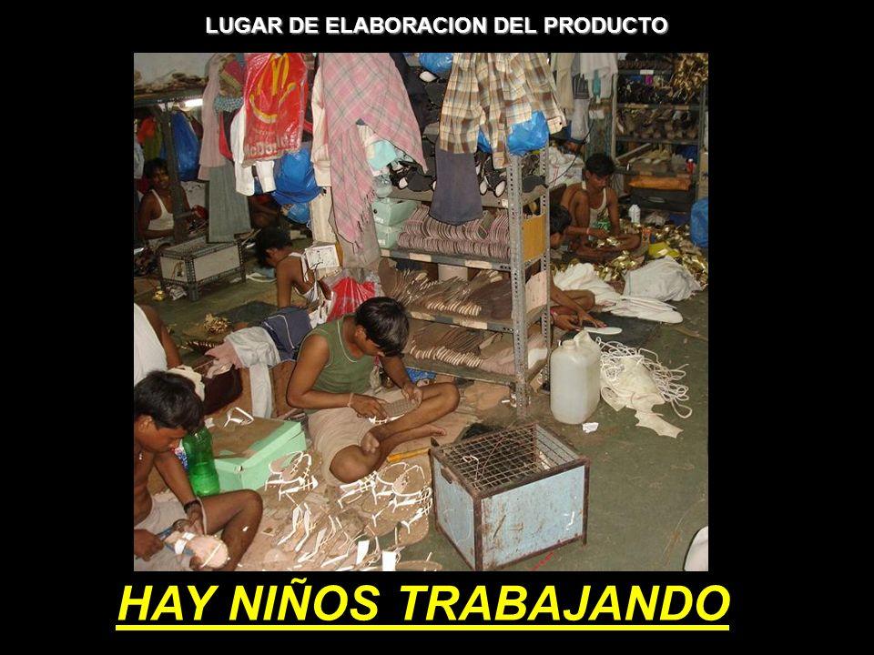 HAY NIÑOS TRABAJANDO