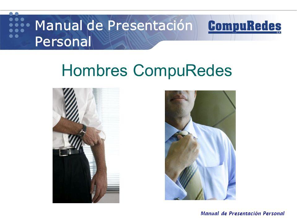 Manual de Presentación Personal Hombres CompuRedes