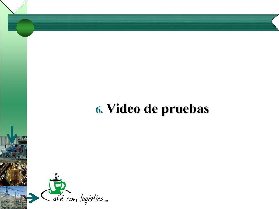 6. Video de pruebas