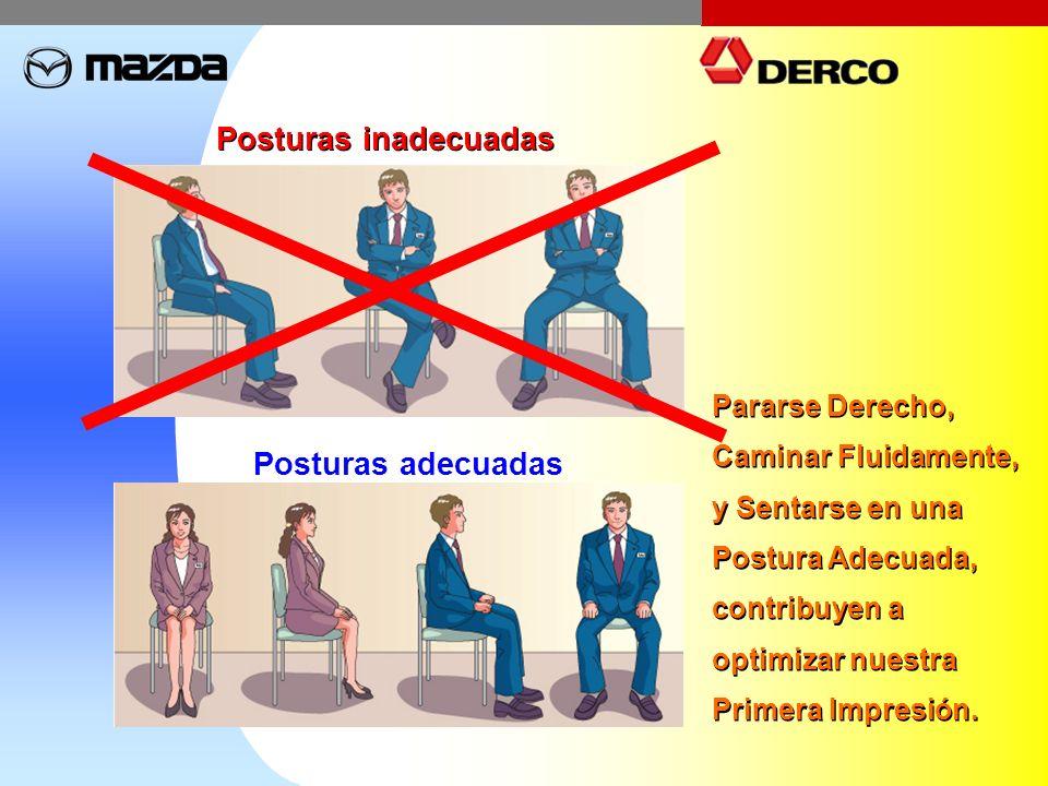 Posturas inadecuadas Posturas adecuadas Pararse Derecho, Caminar Fluidamente, y Sentarse en una Postura Adecuada, contribuyen a optimizar nuestra Prim