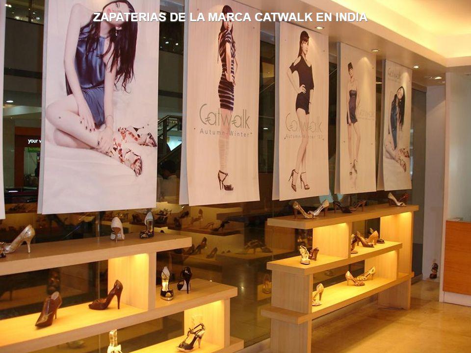 ZAPATERIAS DE LA MARCA CATWALK EN INDIA