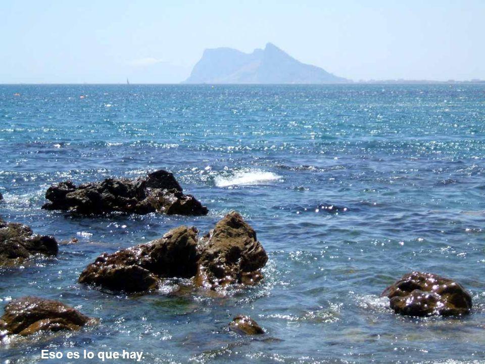 y llegamos a la playa del mar de Cai y llevaremos sales donde no hay...