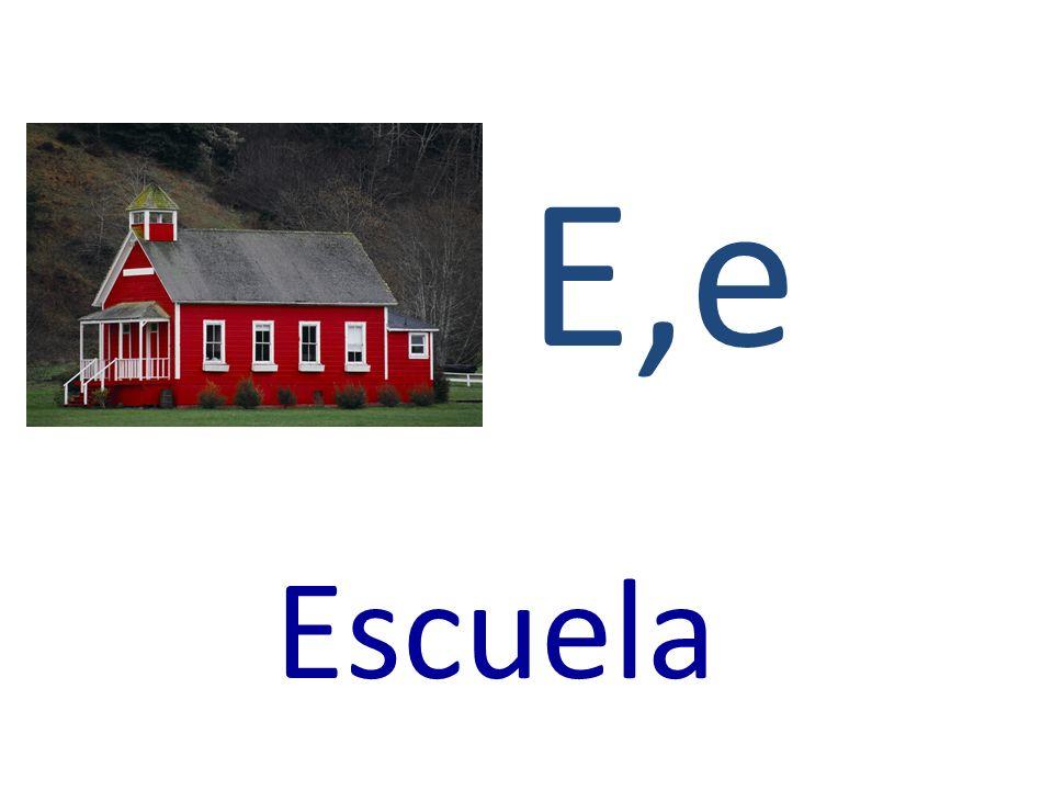 E,e Escuela