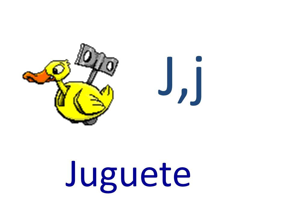 J,j Juguete