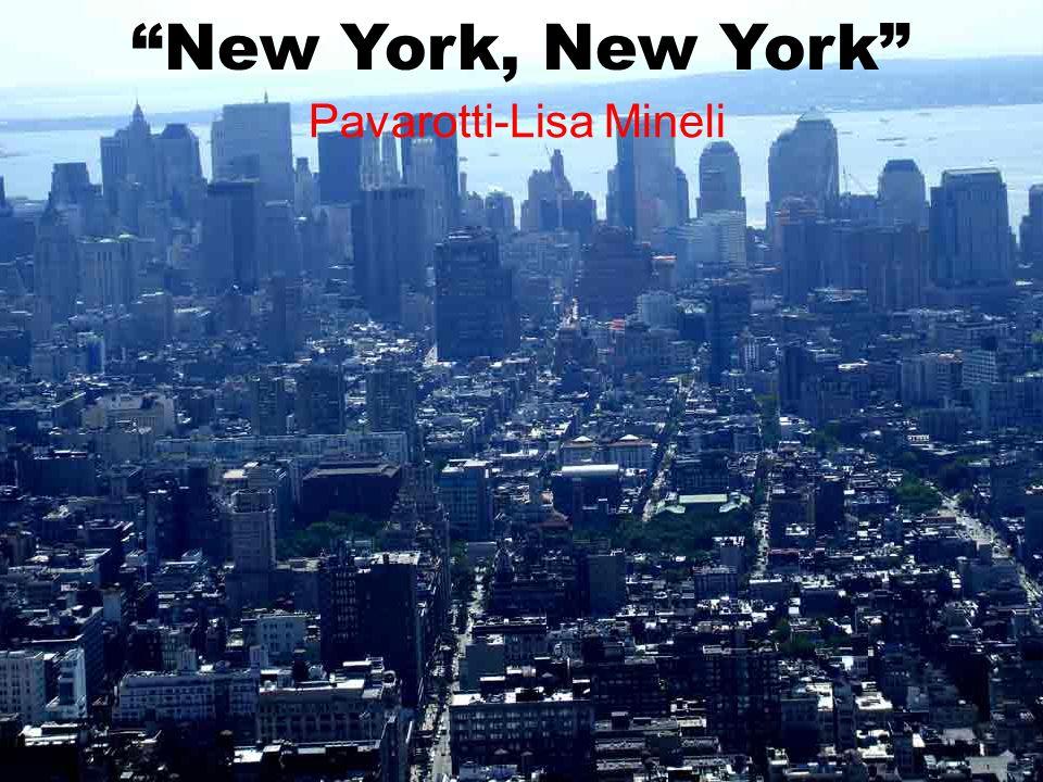 New York, New York Pavarotti-Lisa Mineli