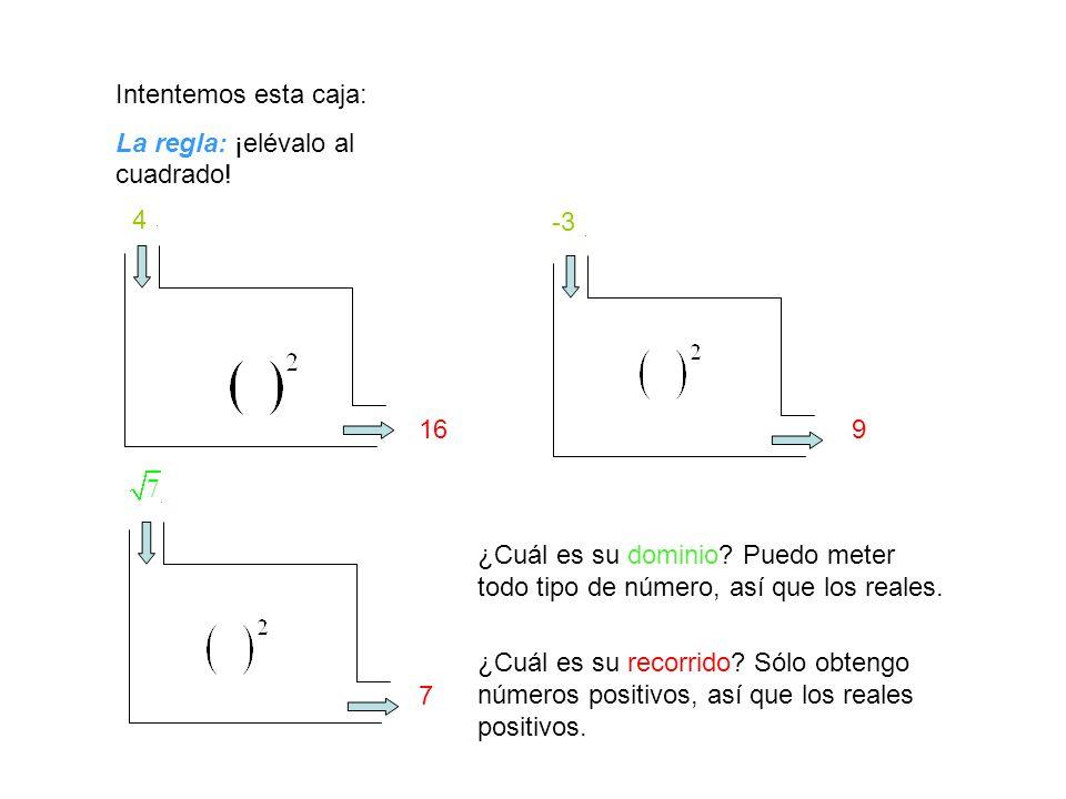 Intentemos alguna caja con números dentro: La regla: Suma 1 +1 ¿Qué podemos meter en esta caja.