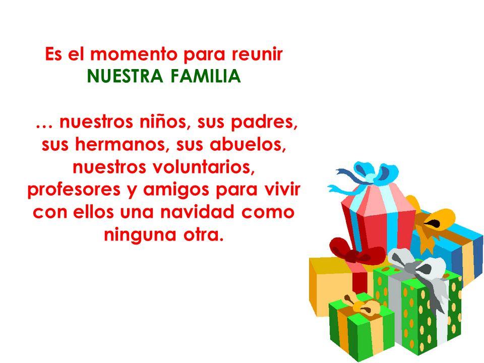 Los participantes: todas los niños de la Fundación Bella Flor, sus familias voluntarios y amigos.