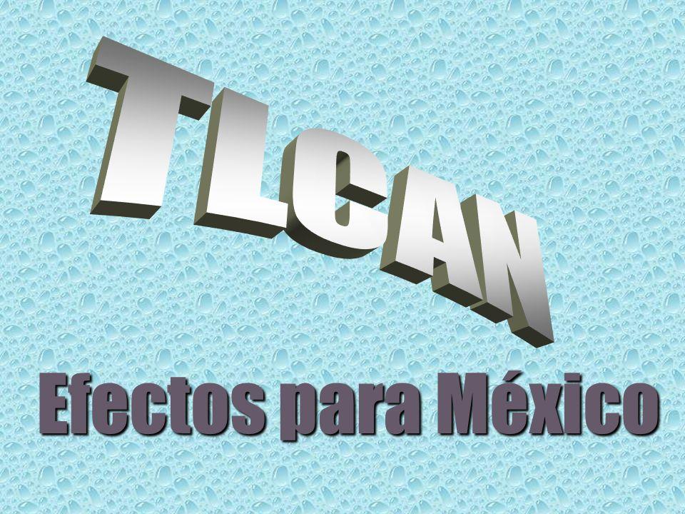 Efectos para México