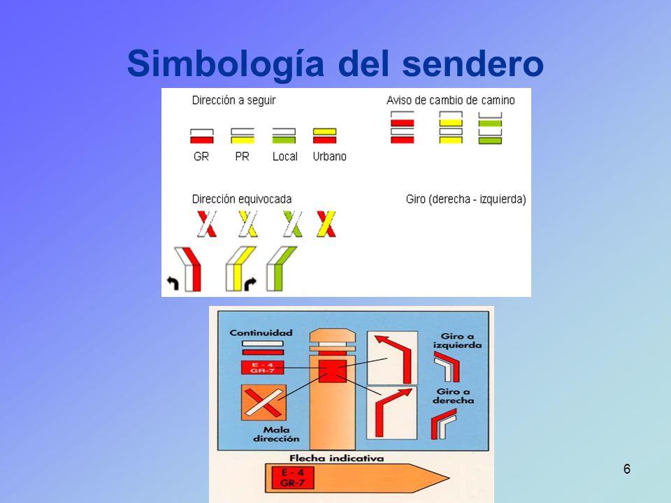 6 Simbología del sendero