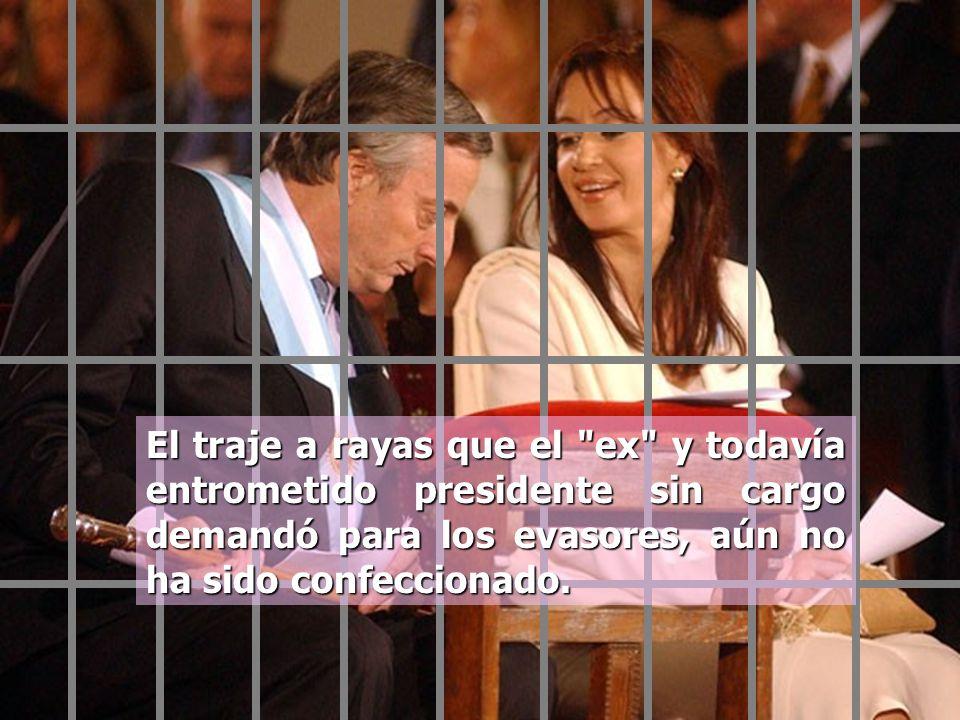 Son solidarios con sus amigos corruptos para que éstos sí sean cada vez más ricos según lo detalla el Diario La Nación en su editorial del Martes 11 d