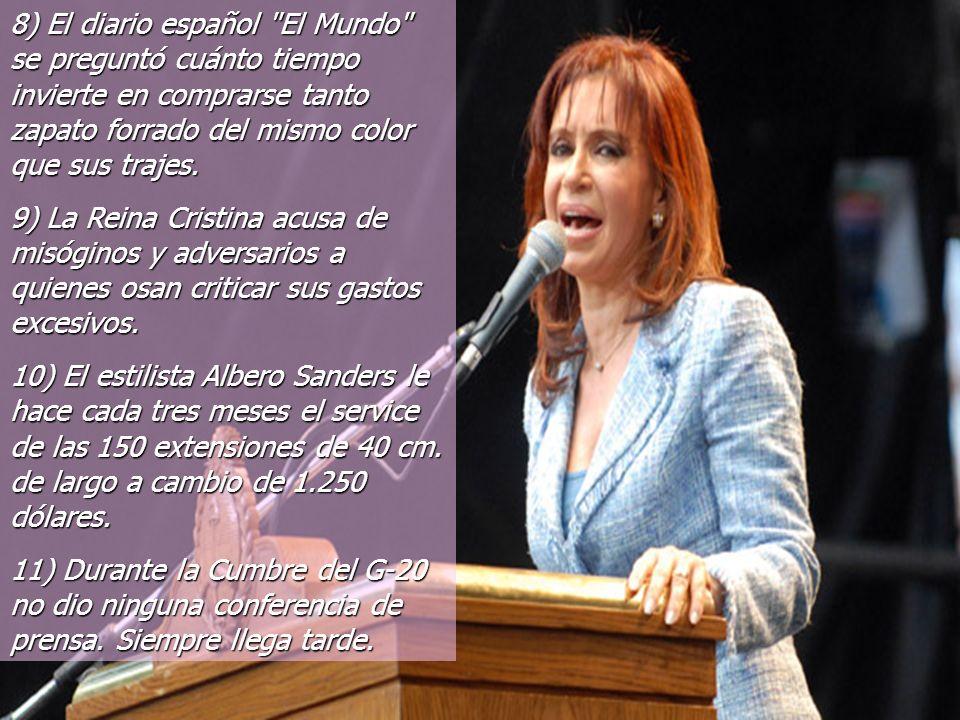 5) La encargada del traslado es María Angélica