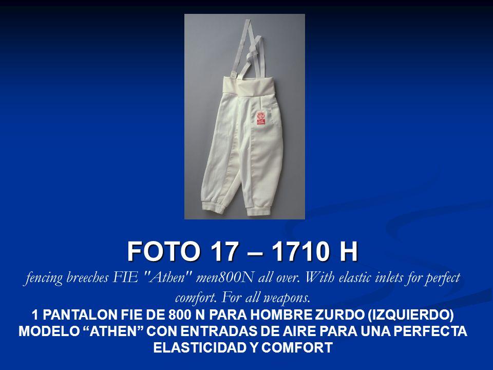 FOTO 17 – 1710 H fencing breeches FIE