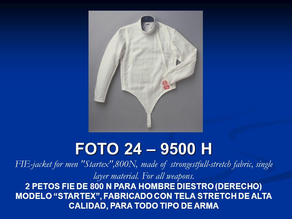 FOTO 24 – 9500 H FIE-jacket for men