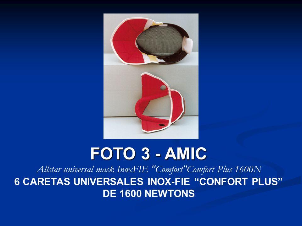 FOTO 3 - AMIC Allstar universal mask InoxFIE