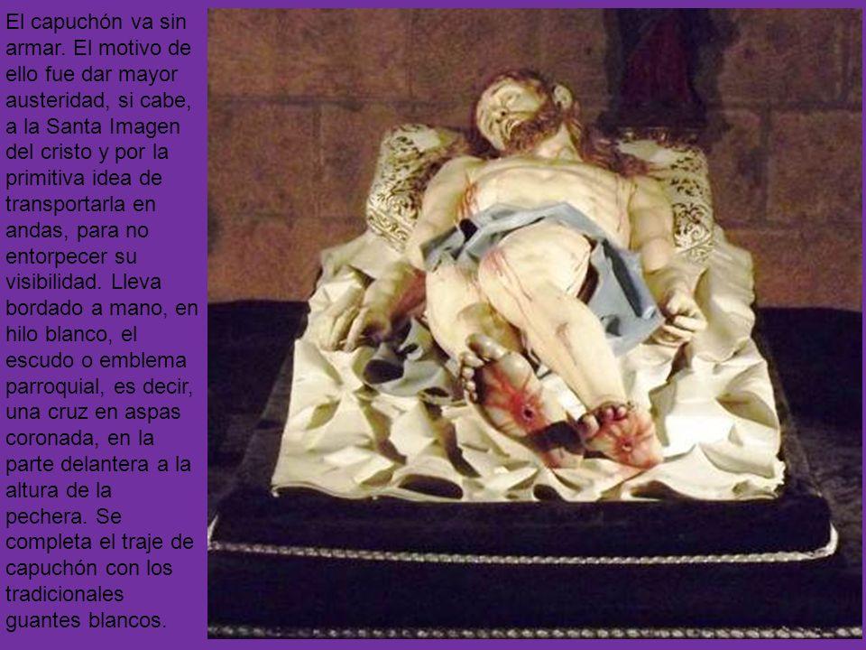 Feligresía de la Parroquia de San Andrés AÑO DE FUNDACIÓN: 1979 Imágenes: Cristo Yacente y Santo Cristo de la Paciencia Autores de las imágenes: Crist