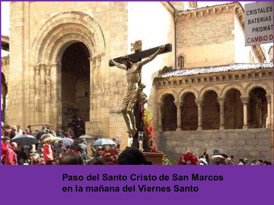 Cofradía del Santo Cristo de San Marcos AÑO DE FUNDACIÓN: 1966 Imagen: Santo Cristo de San Marcos Autor de la imagen: Anónimo del primer tercio del si