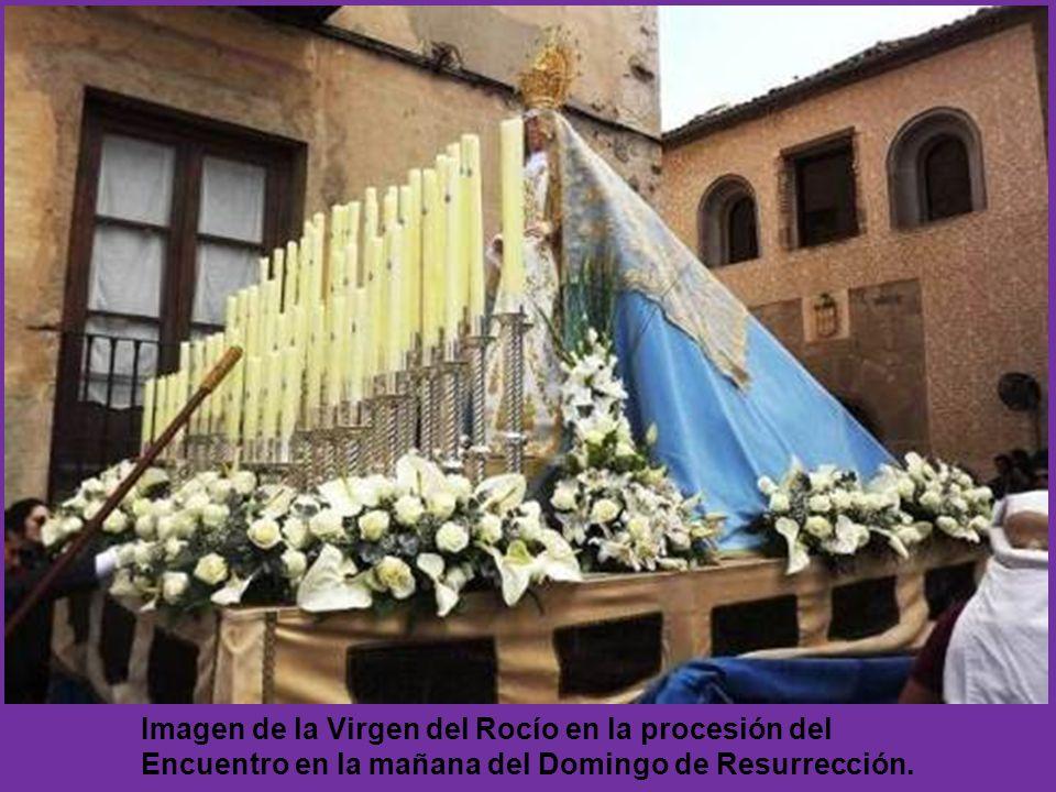 HERMANDAD DE NUESTRA SEÑORA DEL ROCIO DE SEGOVIA AÑO DE FUNDACIÓN: 2008 Imagen: Virgen del Rocío Autor de las imagen: J.C. González Año de realización
