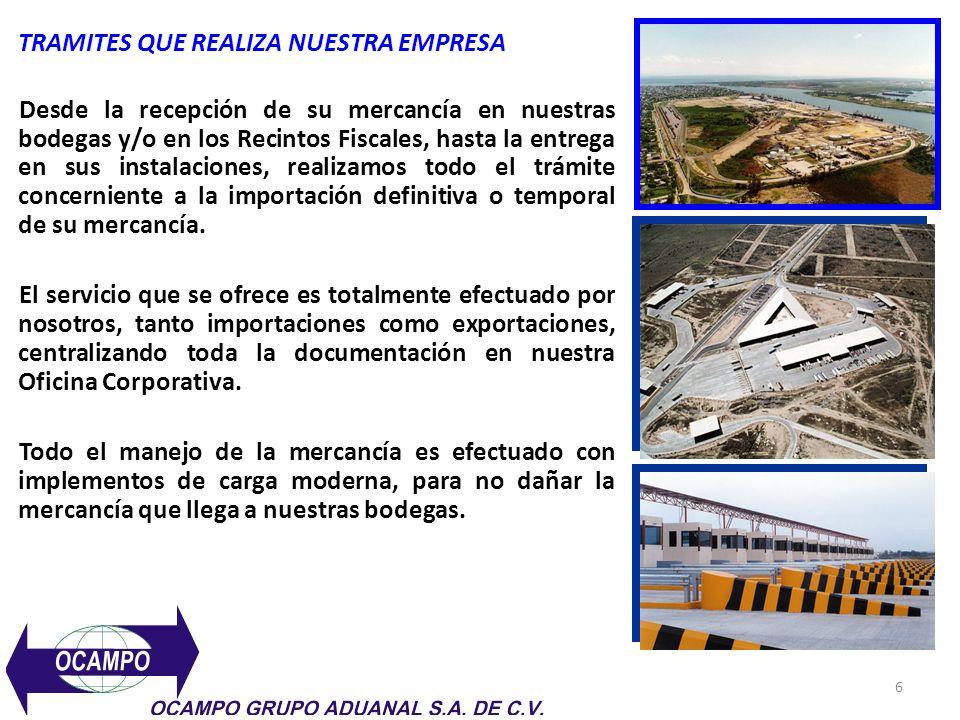 7 OFICINAS DE SERVICIO OCAMPO VERACRUZ, VER.