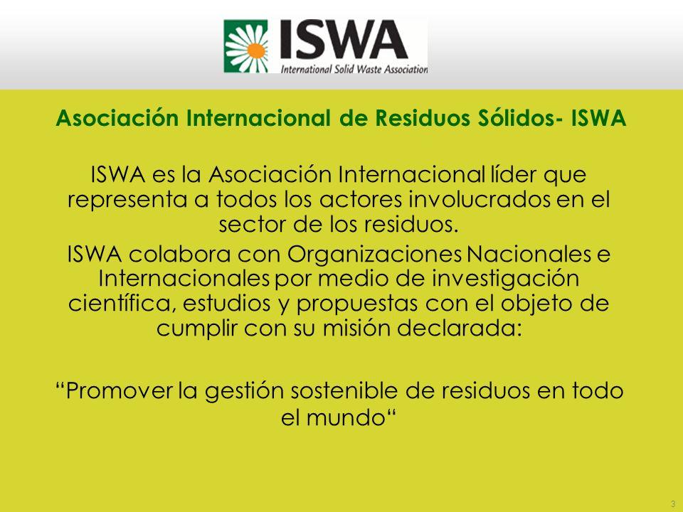 ARS - Asociación para el Estudio de los Residuos Sólidos Es una asociación civil, sin fines de lucro, creada en el año 1997 con el objetivo fundamenta