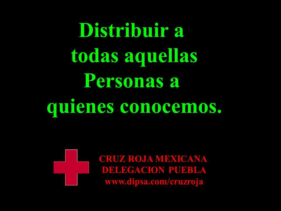 Distribuir Distribuir a todas aquellas Personas a quienes conocemos.