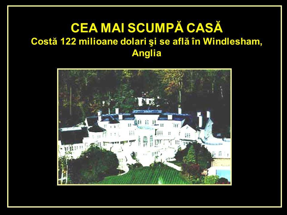 LA CASA MAS CARA DEL MUNDO Cuesta 122 millones de dólares y se encuentra en Windlesham, Inglaterra.