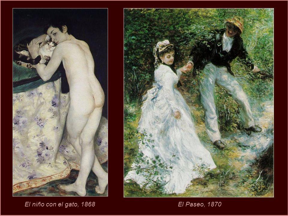 Autorretrato de Renoir. 1875