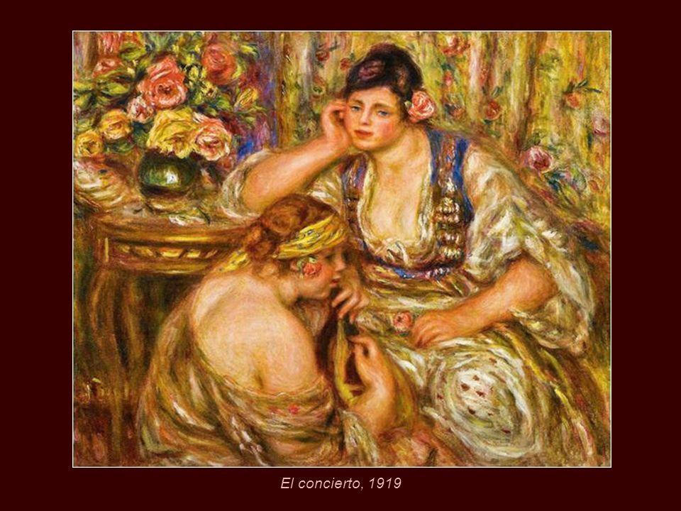 Mujer en el tocador, 1918