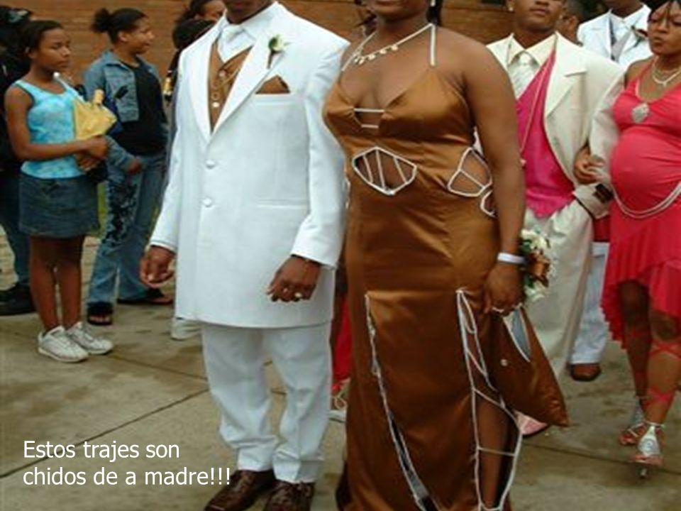 Estos trajes son chidos de a madre!!!