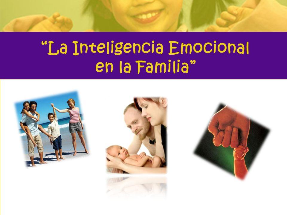 Inteligencia Emocional Capacidad de un individuo de controlar, emplear y potenciar el manejo de sus impulsos emocionales en forma positiva, aún en situaciones adversas.