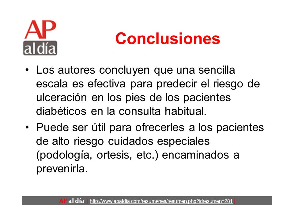 AP al día [ http://www.apaldia.com/resumenes/resumen.php idresumen=281 ] Resultados (3)