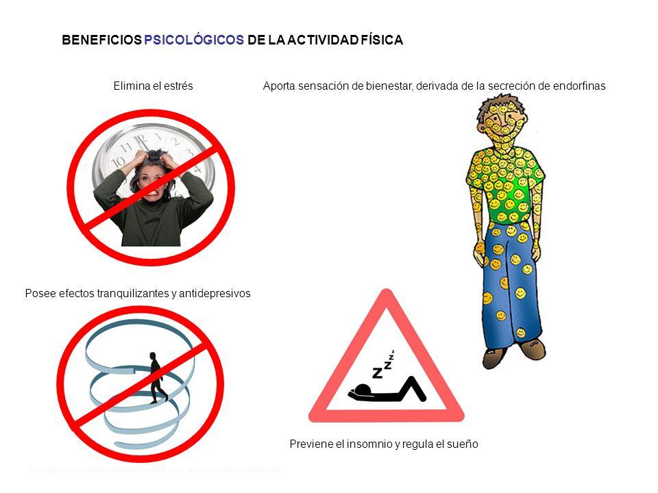 Fuente: http://www.monografias.com/trabajos11/acfis/acfis.shtml http://www.alemana.cl/bys/afi/afi002.html BENEFICIOS PSICOLÓGICOS DE LA ACTIVIDAD FÍSI