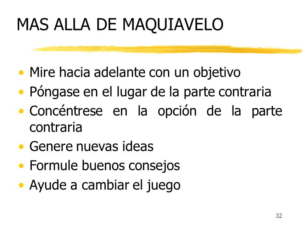 31 10 Estrategias 1.Maneje la cantidad y el flujo de la información 2.Sistematice la formulación de propuestas 3.Use la lluvia de ideas sabiamente 4.A