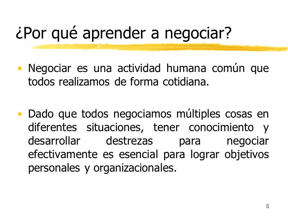 7 Tres Criterios de la Negociación Efectiva 1.Reclamar Valor: Velar por satisfacer sus propios intereses y necesidades. 2.Crear Valor: Descubrir soluc