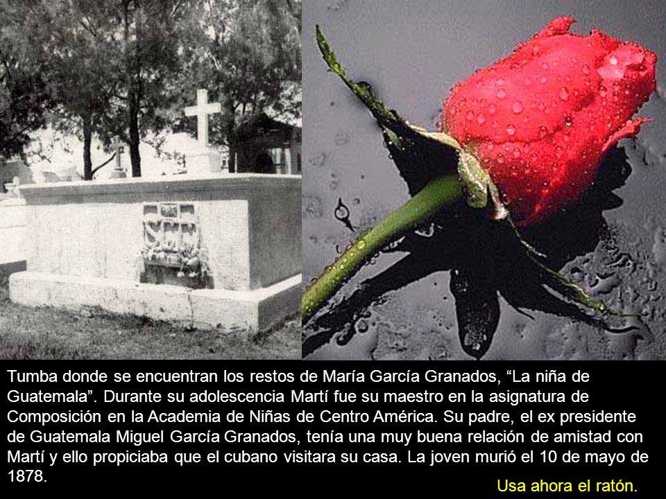 La niña de Guatemala Quiero, a la sombra de un ala, Contar este cuento en flor: La niña de Guatemala, La que se murió de amor.