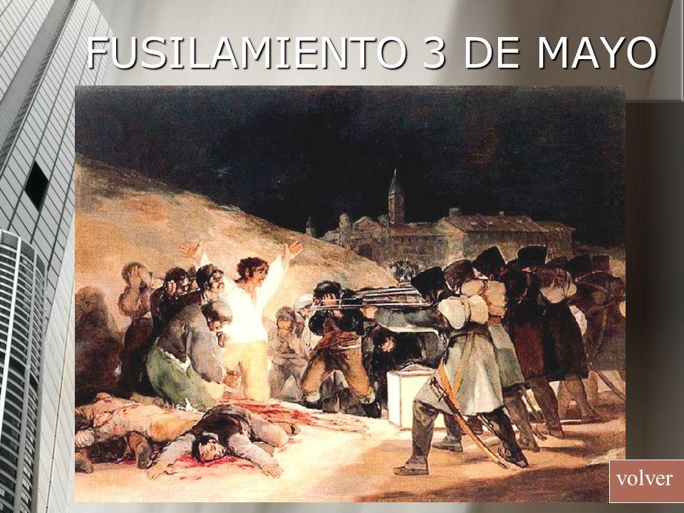 FUSILAMIENTO 3 DE MAYO volver