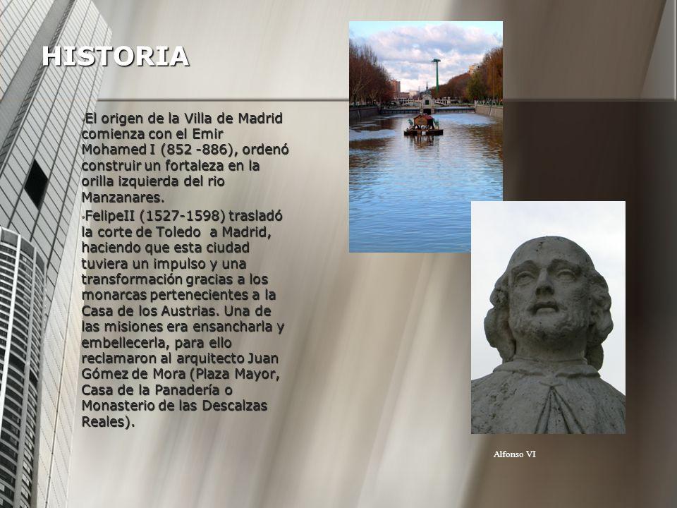 Fue con Carlos III en el siglo XVIII cuando se realizaron las principales calles de Madrid, siendo las principales arterias de la ciudad, Paseo de la Castellana, Recoletos, el del Prado o el de Acacias.