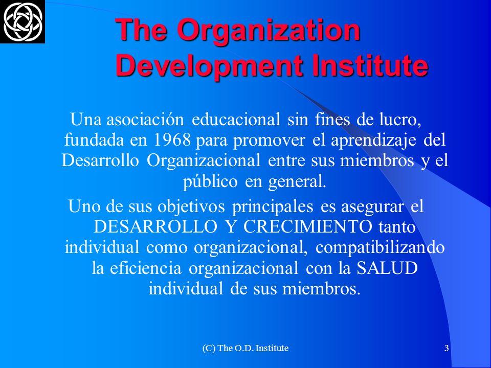 (C) The O.D.Institute13 SEPARE LAS PERSONAS DEL PROBLEMA 1.