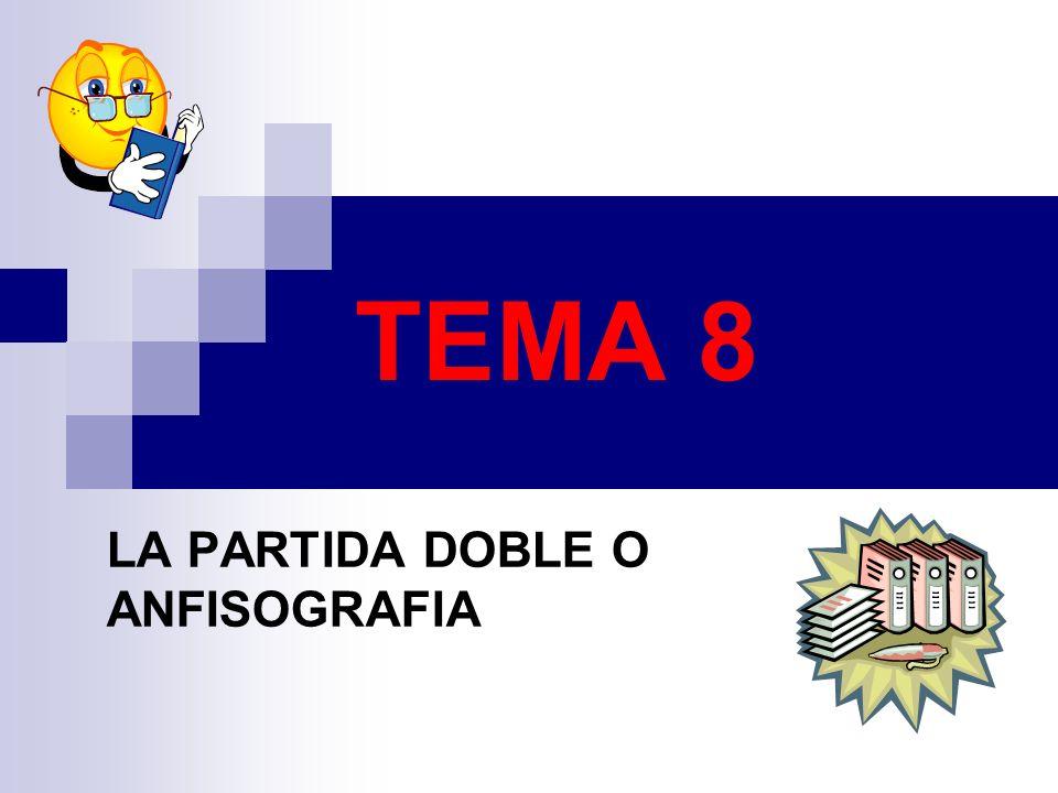 TEMA 8 LA PARTIDA DOBLE O ANFISOGRAFIA