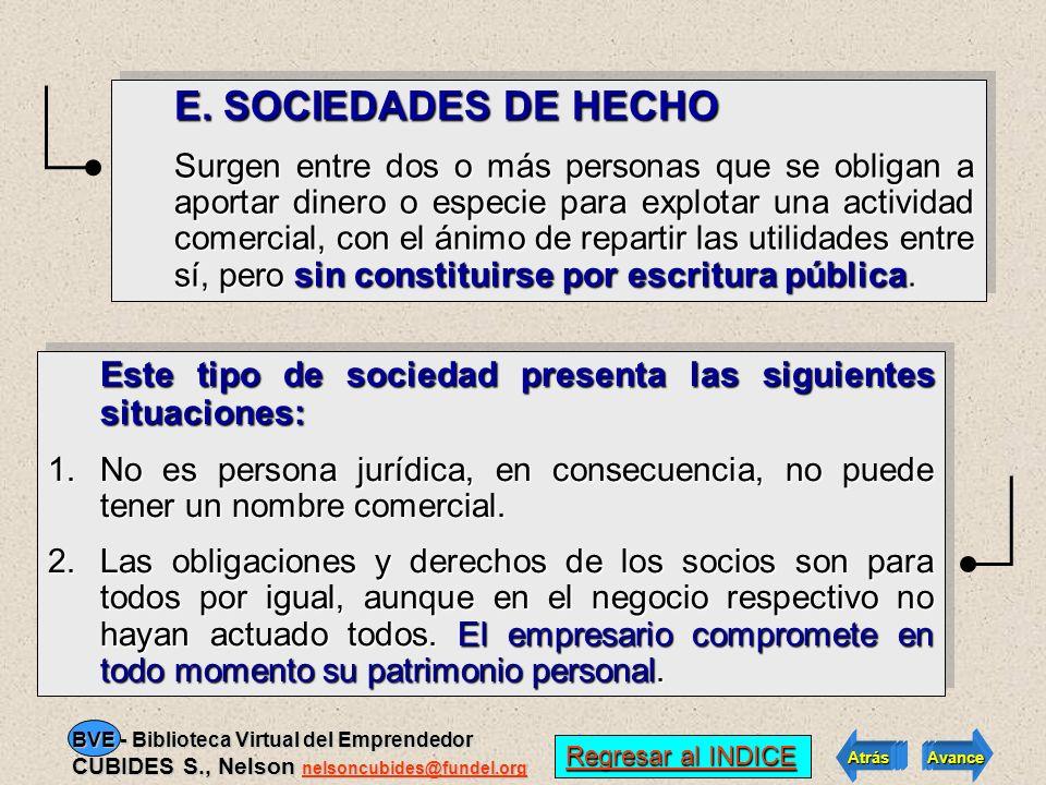 D. SOCIEDADES DE NATURALEZA MIXTA Involucra: SOCIEDADES DE RESPONSABILIDAD LIMITADA La responsabilidad de los socios está limitada al monto de los res