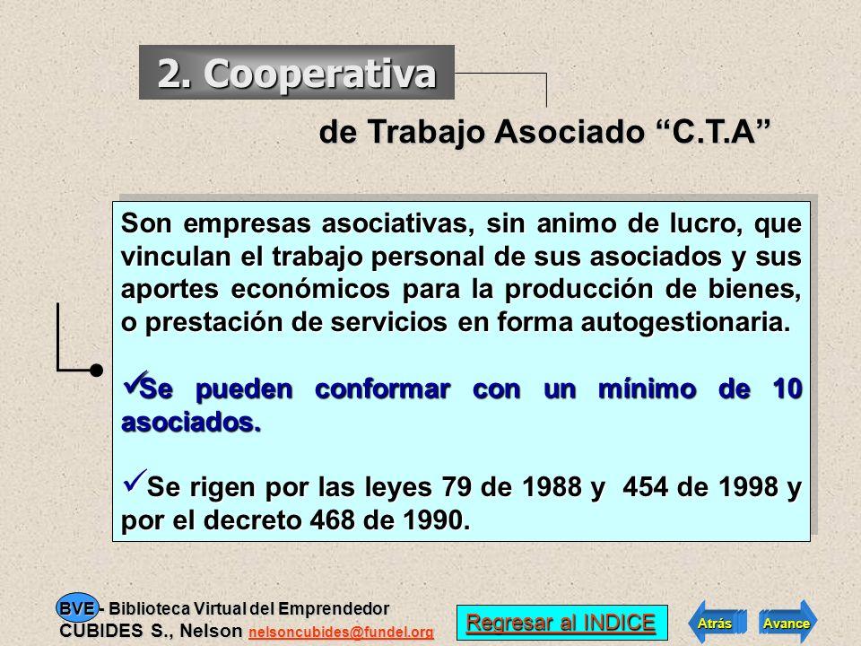 Asociativa de Trabajo E.A.T 1. Empresa Tienen como objetivo la producción, comercialización y distribución de bienes básicos de consumo familiar o la