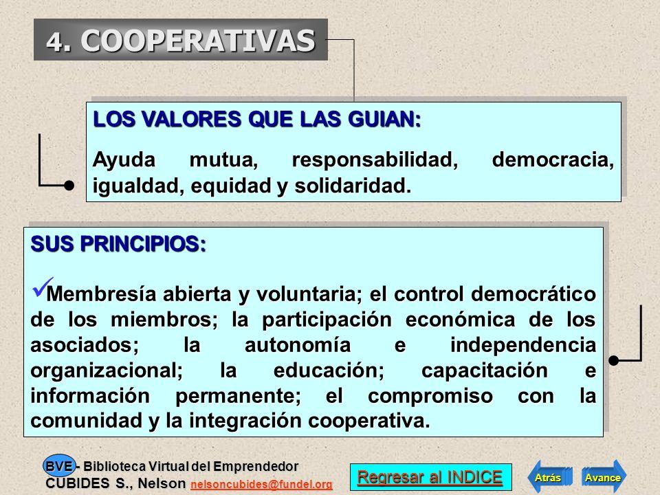4. COOPERATIVAS El sector cooperativo cuenta con tres organizaciones dentro del grupo de las 100 empresas más importantes de Colombia. Las 10 cooperat