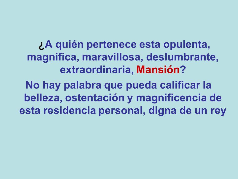 Esta es apenas UNA, sí UNA, de las mansiones del obispo EDIR MACEDO DUEÑO DE LA IGLESIA UNIVERSAL, VULGO PASTOR DE LOS POBRES...