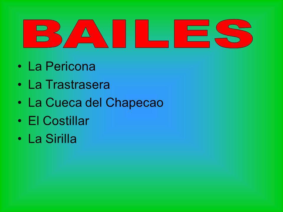 Los chilotes consideran a la Pericona uno de los bailes más populares de la zona.