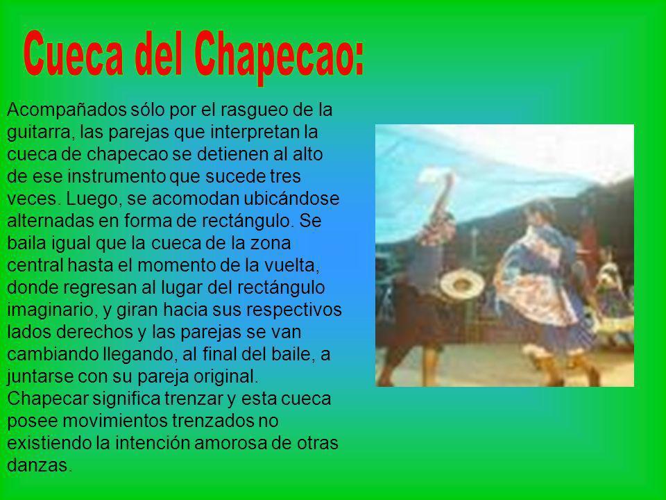 Es un baile que vio sus orígenes en las tertulias y reuniones, especialmente de la zona de Chillán.
