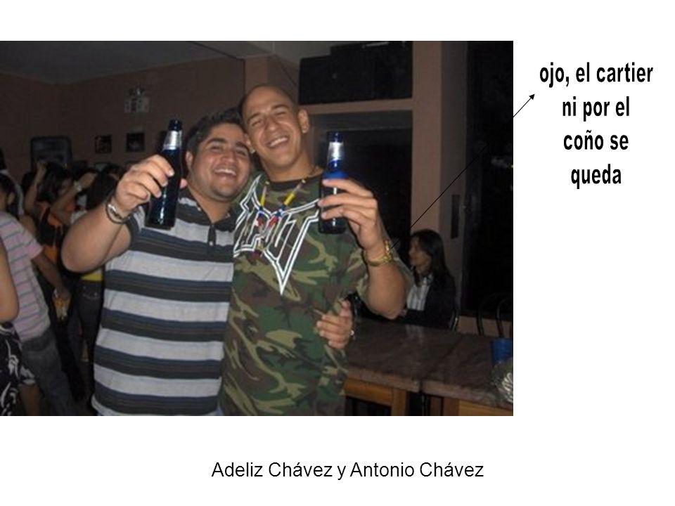 Adeliz Chávez y Antonio Chávez